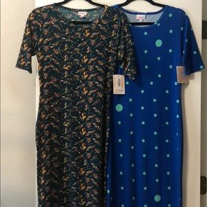 2 brand NWT Julie dresses size small